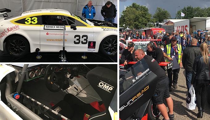 S&T som sponsor til Grand Prix på Jyllandsringen