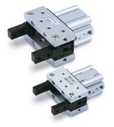 Pince double effet 2 doigts à verrouillage mécanique Série MHT2-Z