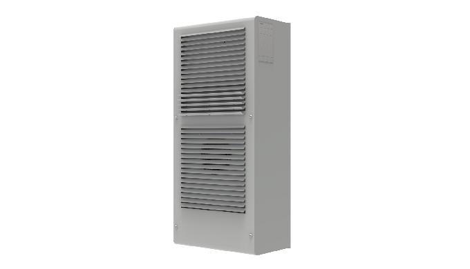 Condizionatore da parete per quadri elettrici in applicazioni outdoor. Protherm permette una perfetta integrazione nel
