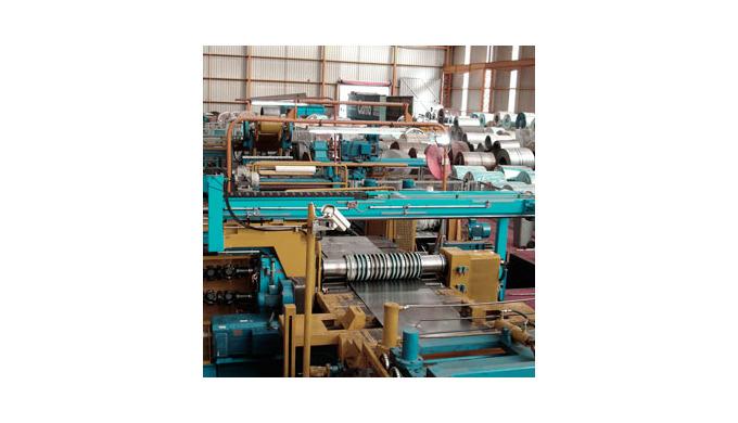 Desarrollamos proyectos de líneas de corte de alta tecnología para procesado de bobinas. LINEAS DE CORTE LONGITUDINAL Ac