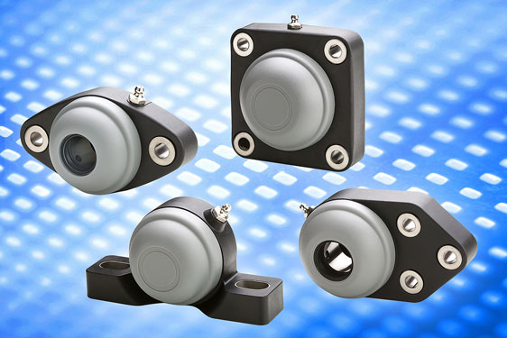 UC Series flange mount shaft bearings
