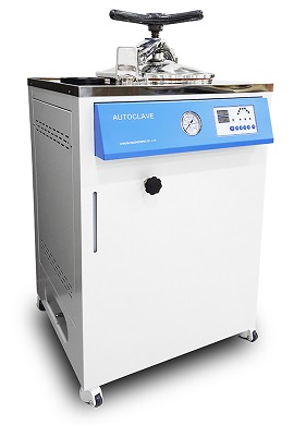 Fully Automated Vertical Steam Sterilizer Automated Cycle Sterilization * Pre-Vacuum → Filling Water → Heating → Sterili