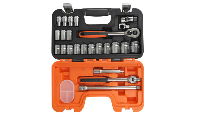 "29pc 1/4"" Square drive Socket Set"