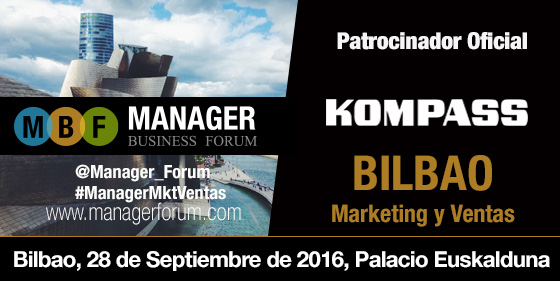 Kompass, Patrocinador Oficial del Manager Business Forum – Bilbao