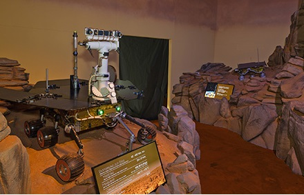 Les rovers martiens atterrissent à Lucerne