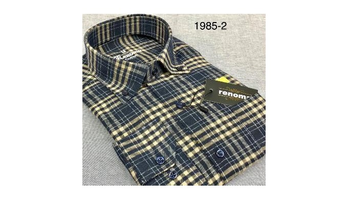 Flanel heren shirts