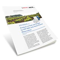 Applikationsbericht: Analyse von Böden und Schlamm mittels ICP-OES mit Twin-Interface