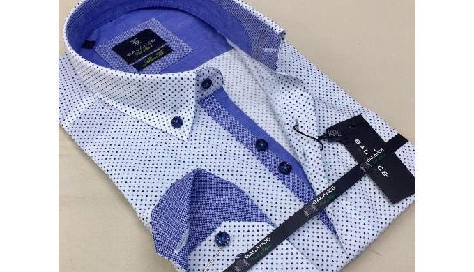 We produce desginer men's shirts in Istanbul / Turkey since 1963. We can produce for your label(s)....