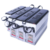 Tel.X Ni-Cd battery: guaranteed power continuity for trackside signaling and substation control centers Tel.X delivers e