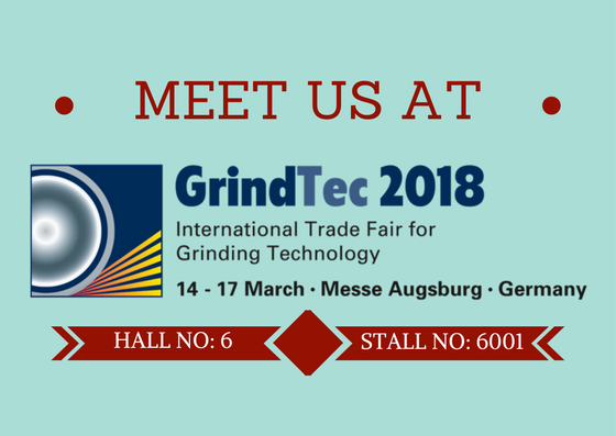We are at GrindTec 2018!