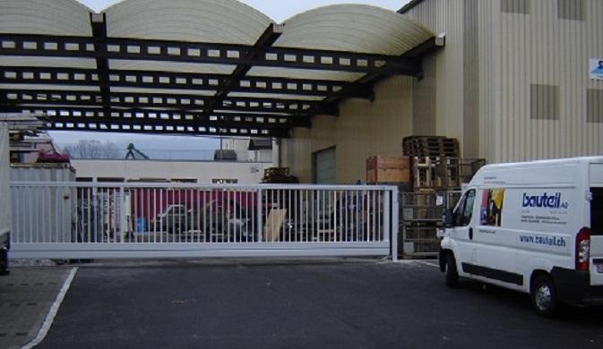 Arealabschlüsse / Schiebetoranlagen