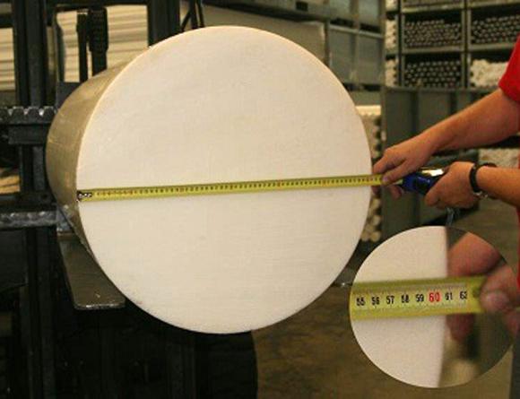Vi kan nu erbjuda POM-C 600mm i diameter!