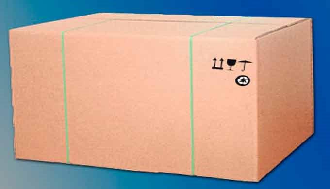 Embalaje de cartón de un solo uso.  Completamente personalizable y hecho a medida ofrece grandes ventajas respecto a ot