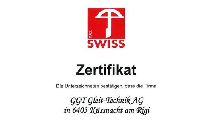 Zertifizierung durch Swiss Label