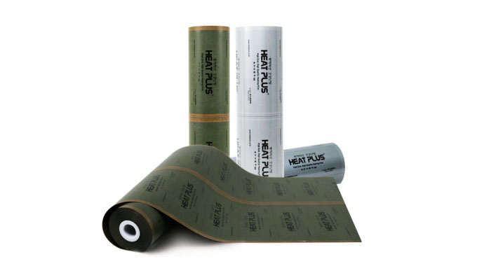 HEAT PLUS All coated heating film