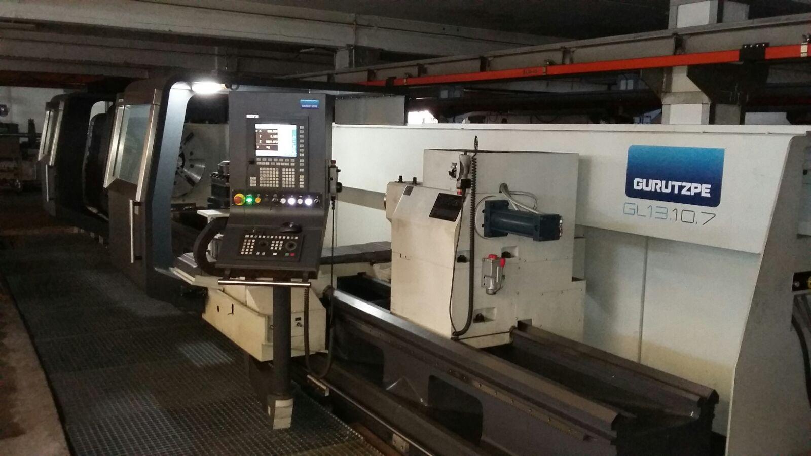 Torno CNC 1300x7000, proyecto financiado por MINETUR.