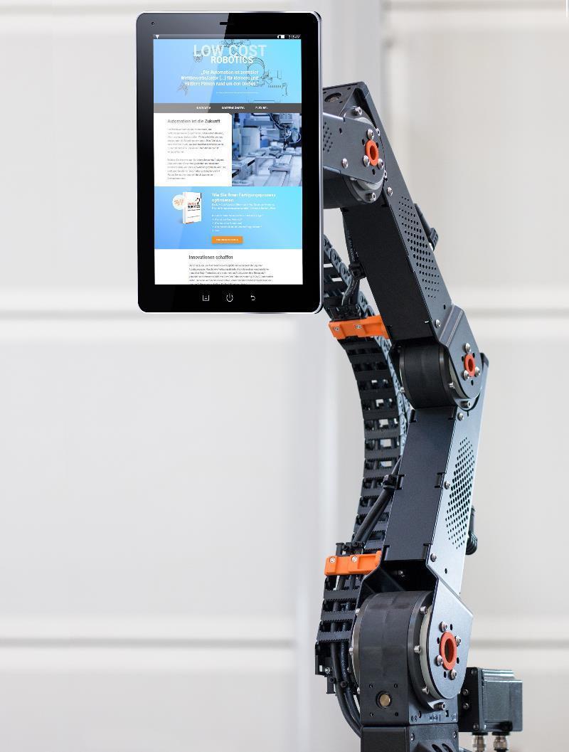 Der einfache Einstieg in die Welt der Low Cost Robotics