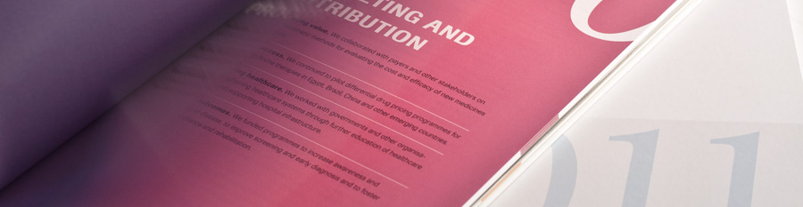 Wir bieten Ihnen Alles was es braucht um den perfekten Geschäftsbericht herauszugeben. Nebst unserem Know-How und divers