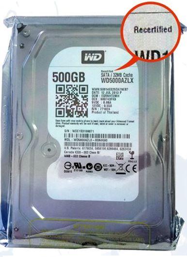 Western Digital Refurbished Drive – WD5000AZLX