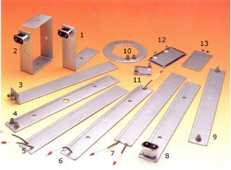 Resistencias planas, acodadas y coronas circulares: Datos necesarios para la fabricación: Longitud,anchura, voltaje, po