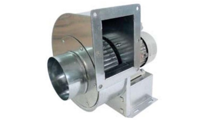 SINGLE INLET WITH SCIROCO IMPELLER Features: Fan casings are from robust galvanized sheet steel finished with electrosta