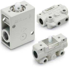 Distributeur mécanique 3/2, VM100/200