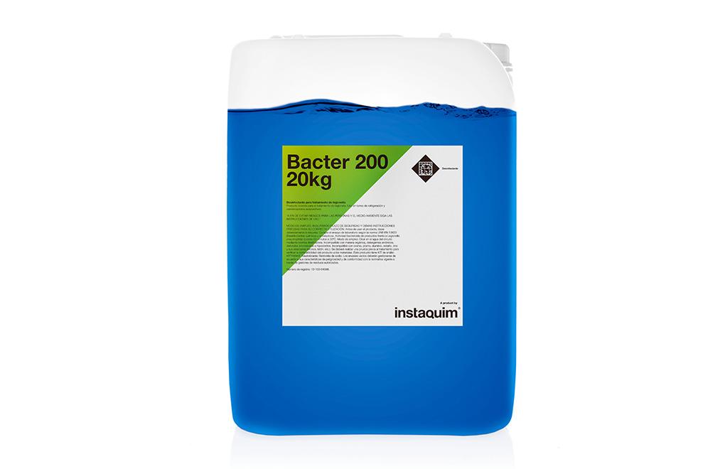 Bacter 200, desinfectante para el tratamiento de legionella.