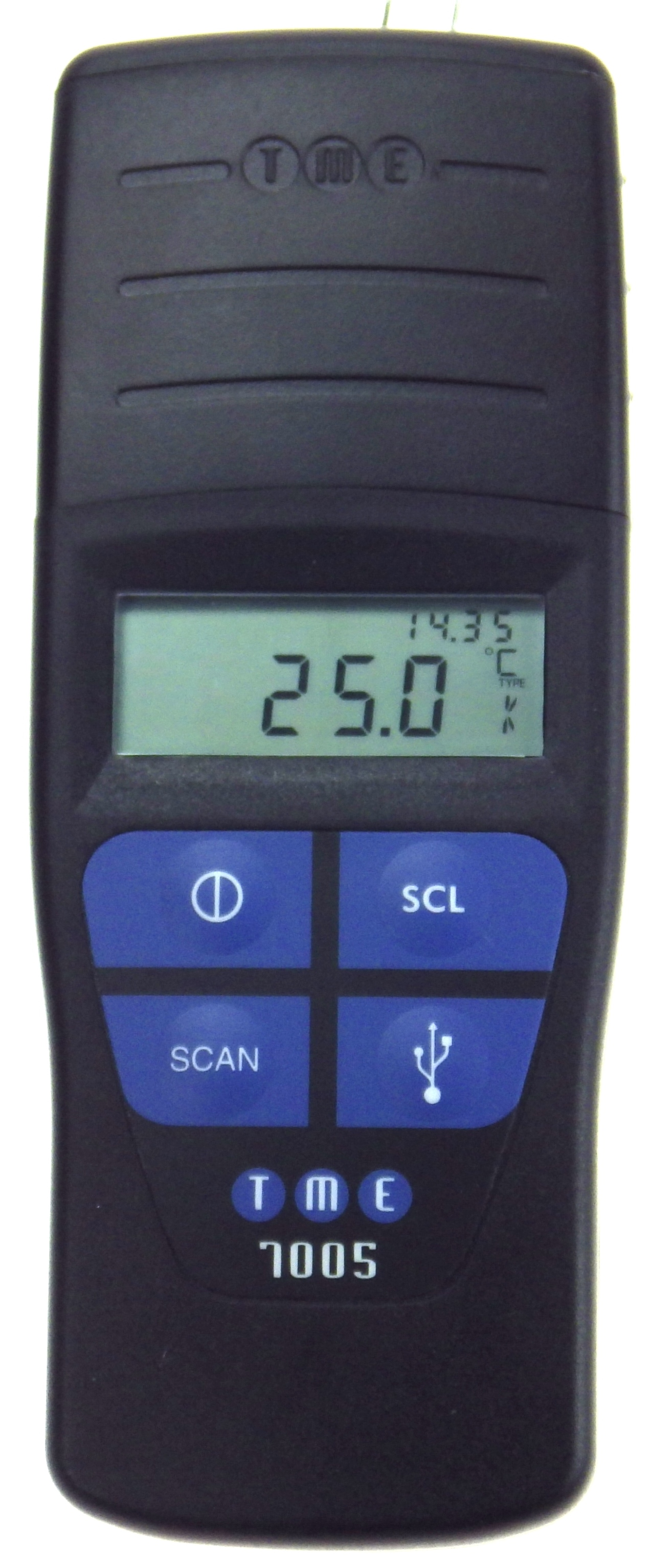 New USB Barcode Scanning Thermometer offers alternative data download methods