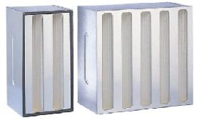 Los filtros Astrocel III tienen una excelente capacidad de filtración para las partículas más pequeñas, y han sido diseñ