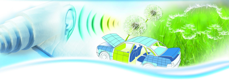 Vliesstoffe für Automobilanwendungen