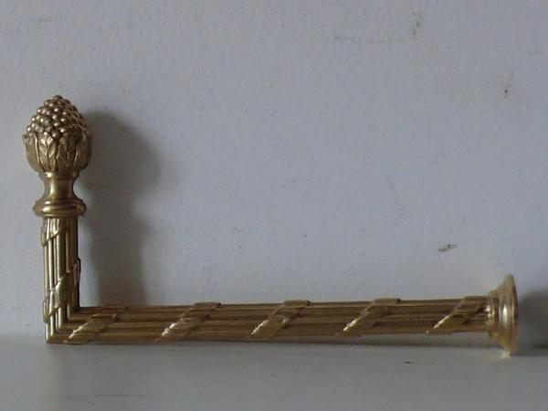 crochet pour embrasse de rideau r f 502 par bronzier d art. Black Bedroom Furniture Sets. Home Design Ideas