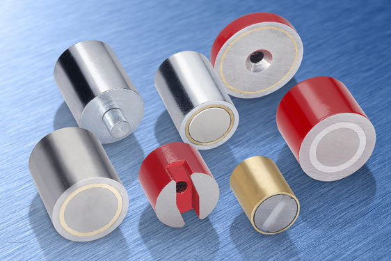 Elesa permanent magnets offer a simple way of providing temporary fixing for workpieces, instruments, gauges, covers, do
