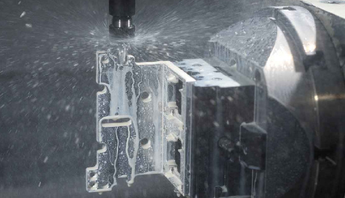 Cubic and rotative CNC machining