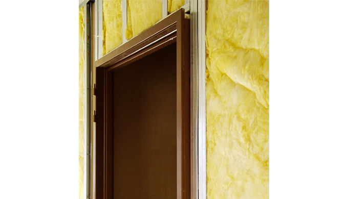 Huisseries Profeu® pour cloisons à ossature métallique pour blocs-portes EI30 : • Pour cloisons Placostil® 98 et 120 mm
