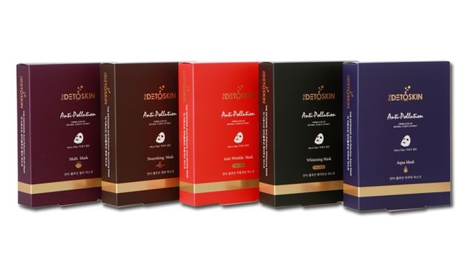 Forms a moisturizing barrier with micro-fiber mask pack containing herb extracts and anti-oxidative substances for skin