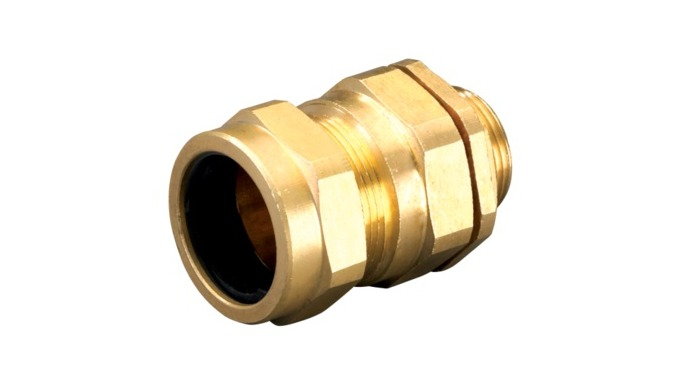 CW Brass Cable Gland is suitable for indoor with all kind of Steel Wire Armoured (SWA) cable and Aluminium Wire Armoured
