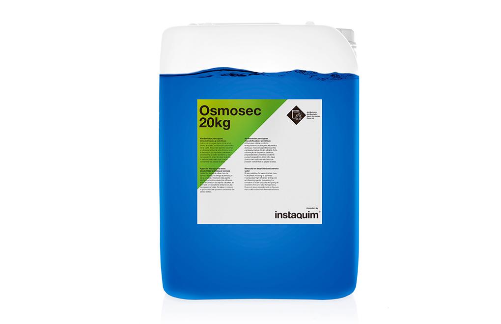 Osmosec, abrillantador para aguas descalcificadas y osmóticas.