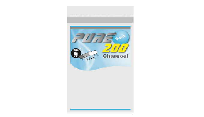PURE Slims Charcoal Filter ㅣ Cigarette filters