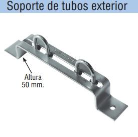 SOPORTE DE TUBO EXTERIOR