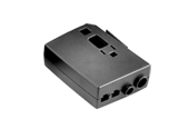 Compared to other LINAK control boxes the CB7 is very small and compact in design. The CB7 is designed to slide onto an