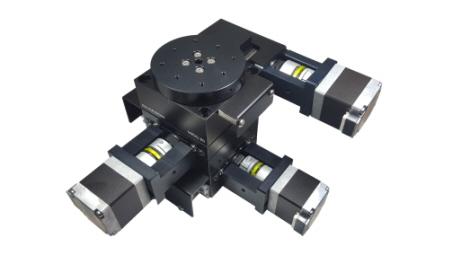 Motorized XYΘ positioning stage (Model: MXYRSG-60)