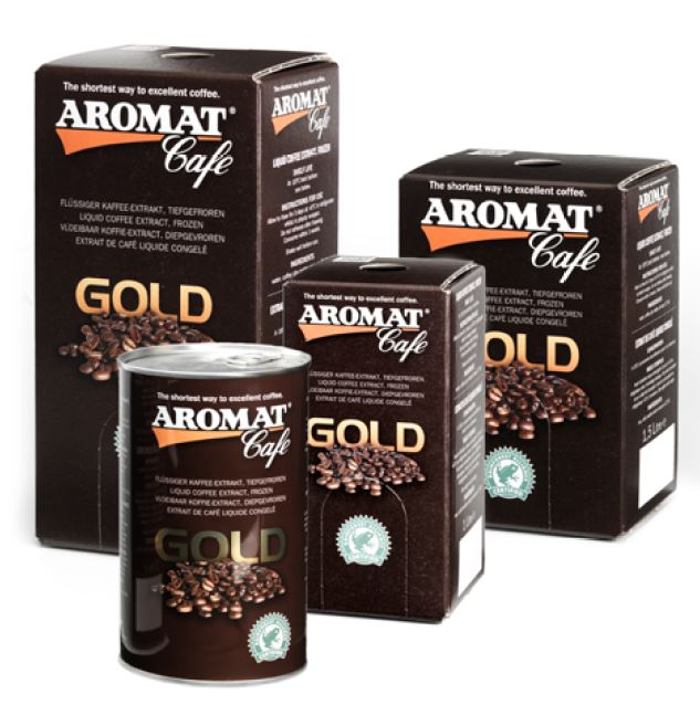 AROMAT Cafe GOLD