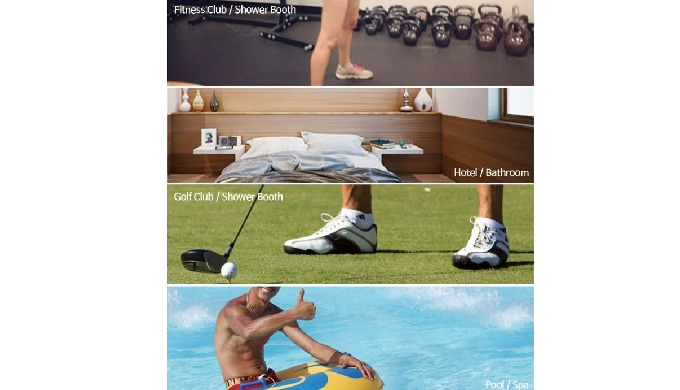 It can be used in the following areas, - Fitness Club / Shower Booth - Hotel / Bathroom, Swimming pool,Sauna - Golf Clu