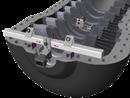 Till Fixturlaser NXA Geometry finns två olika fixturkit för mätning av hela och halva lagergångar.Varje kit består av fi