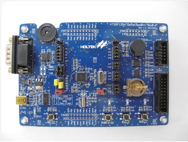 La série HT32F125x des microcontrôleurs 32 bits ARM Cortex M3 de HOLTEK contient des microcontrôleurs haute performance,
