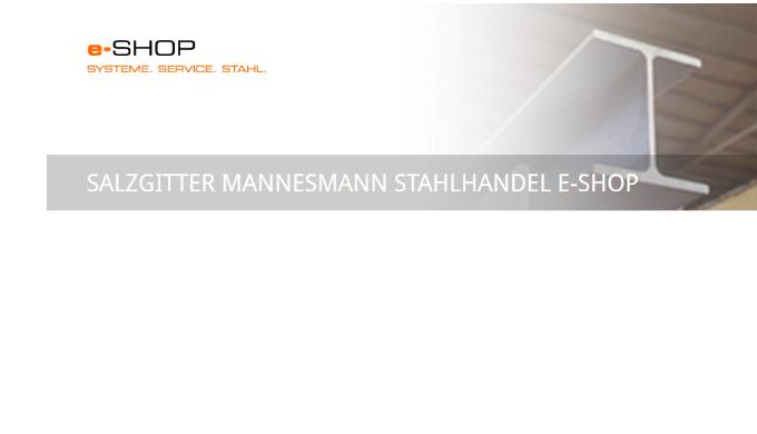 Salzgitter Mannesmann e-Shop