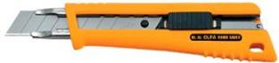 Cutter OLFA NL-AL Anti-glisse