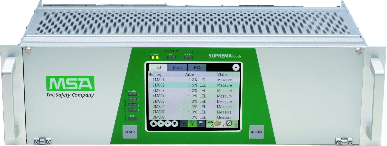 Le SUPREMATouch est un système d'alerte feu et gaz destiné à la détection et la surveillance sur les sites industriels e