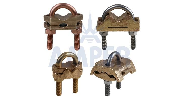 U TYPE CLAMP MATERIAL: Brass, Bronze H TYPE CLAMP MATERIAL: Copper, Steel J TYPE CLAMP MATERIAL: Copper, Steel Different