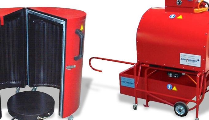 In den Fällen, wo lediglich einzelne Fässer oder Gebinde beheizt werden müssen, ist die Investition in eine Wärmekammer